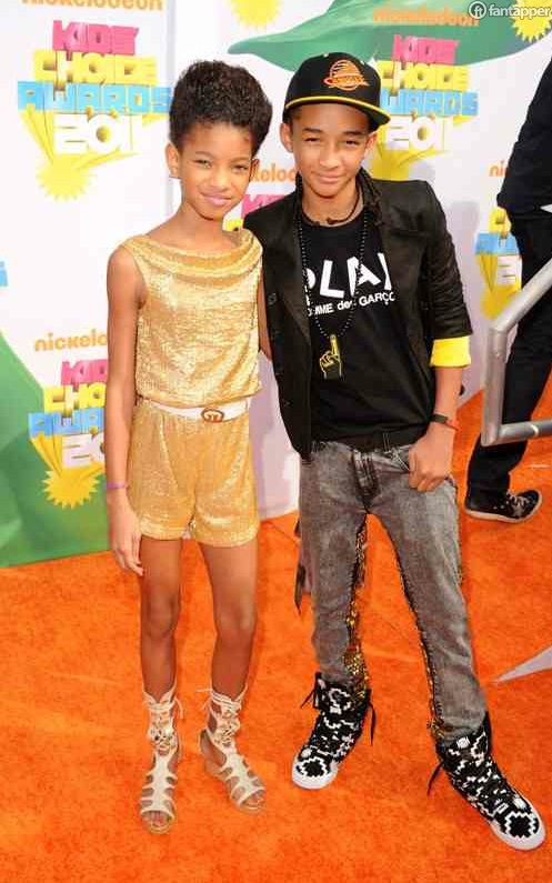 will smith kids 2011. will smith kids choice awards